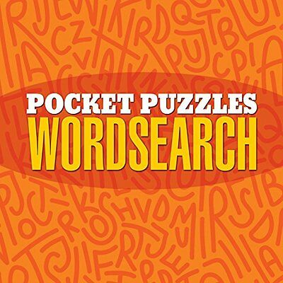 NEW Pocket Puzzles Wordsearch by Arcturus Publishing