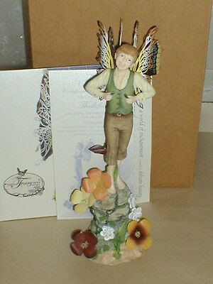 The Fairy Way, Very Rare, Retired, THISTLEFOOT  BOY  FAIRY , Large, MIB