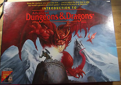 Introduction to Advanced Dungeons & Dragon (Box Size)