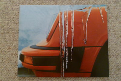 1975 Porsche 911 Coupe Showroom Advertising Sales Poster RARE!! Awesome L@@K