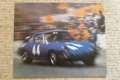 1973 Porsche 911 Coupe Showroom Advertising Poster RARE!! Awesome L@@K