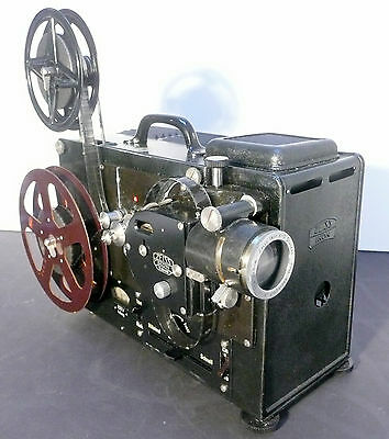 complete * vintage ZEISS IKON KINOX-N 16mm PROJECTION OUTFIT - Working