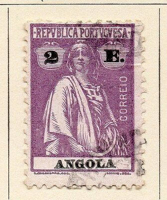 Angola 1922-25 Early Issue Fine Used 2E. 067582