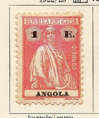 Angola 1922-25 Early Issue Fine Mint Hinged 1E. 067581