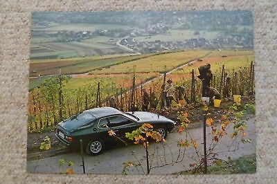 1979 Porsche 924 Coupe Showroom Advertising Poster RARE!! Awesome L@@K