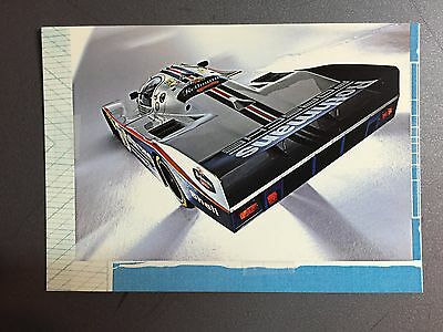 1982 Porsche 962 Coupe Factory issued Postcard Post Card RARE!! Awesome L@@K