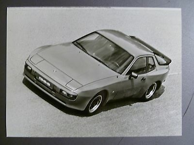 1982 Porsche 944 Coupe B&W FACTORY Press Photo Foto RARE!! Awesome L@@K
