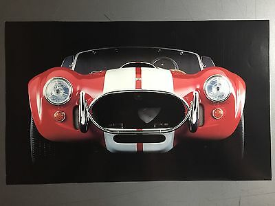 1962 - 1967 Ford Shelby Cobra Roadster Print, Picture, Poster RARE! Awesome L@@K