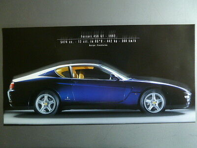 1992 Ferrari 465 GT Coupe Print, Picture, Poster RARE!! Awesome L@@K