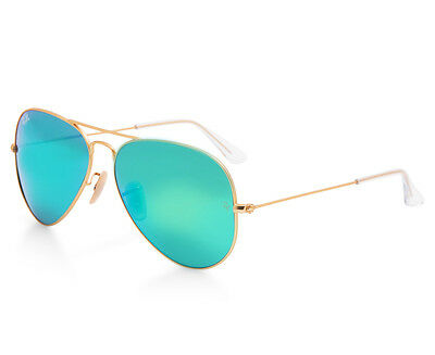 Ray-Ban Aviator RB3025-112/19 Sunglasses - Gold/Green Mirror