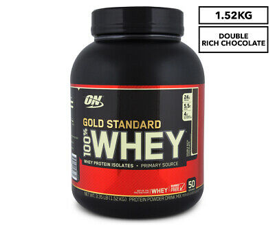 Optimum Nutrition Gold Standard 100% Whey Protein Double Rich Choc 1.52kg