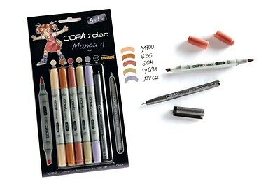 COPIC ciao Set 5+1 NEU 22075561 Manga 4 COPICmangaset Markerset TOP