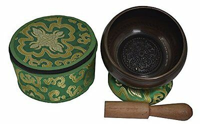 Meditation Tibetan Singing Bowl with Special Itching Buddha Mandala Crafted and