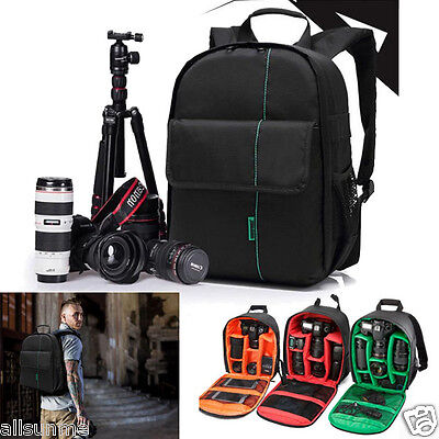 Fashion Camera Backpack Bag Waterproof DSLR Case for Canon for Nikon for Sony