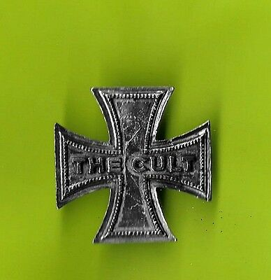 the Cult 1990 tour deluxe badge double clutch pin pinback button badge G