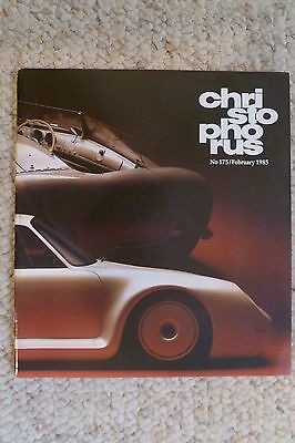 Porsche Christophorus Magazine English #175 February 1985 RARE!! Awesome L@@K