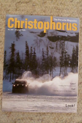Porsche Christophorus Magazine English #290 June 2001 RARE!! Awesome L@@K