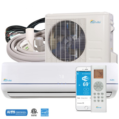 24000 Ductless Mini Split AC Heat Pump ENERGY STAR by Senville