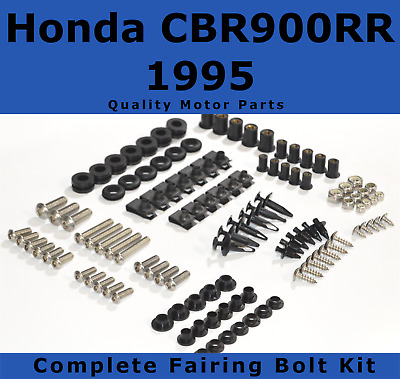 Complete Fairing Bolt Kit body screws for Honda CBR 900 RR 1995 Stainless