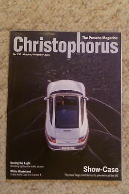 Porsche Christophorus Magazine English #292 October 2001 RARE!! Awesome L@@K