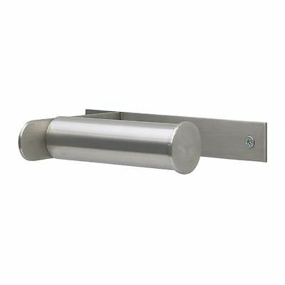 New Ikea GRUNDTAL Stainless Steel Wall Mounted Toilet Roll Holder