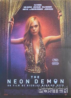 The Neon Demon - Winding Refin / Fanning / Reeves  - Original Small Movie Poster
