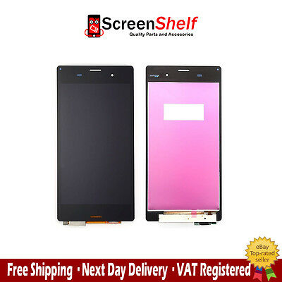 Sony Xperia Z3 LCD Touch Screen Replacement Glass Digitizer Frame Genuine