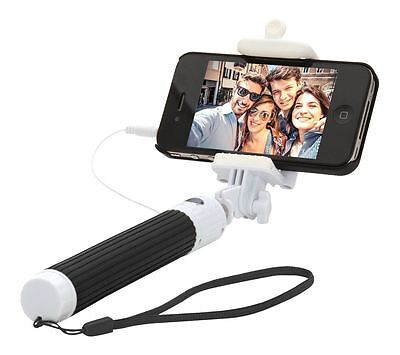 IGGI Lightweight Extendable Pocket Selfie Stick with 3.5mm Jack Cable