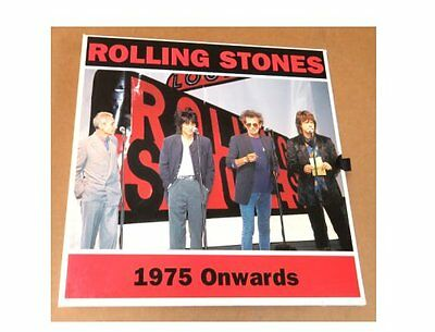The Rolling Stones 4-CD Numbered Box Set 1975 Onwards Signed By Ronnie Wood Ron