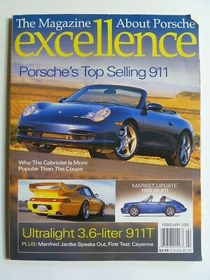 "2003 Porsche Excellence Magazine #117 February 2003 ""Porsche's Top Selling 911"""