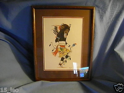 Kachina Dancer Signed Paul Vigil 1978