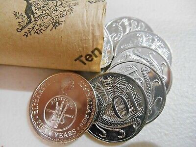 2016 Decimal Currency Changeover Coin 1 x  10c TEN Cent  From  Mint Roll