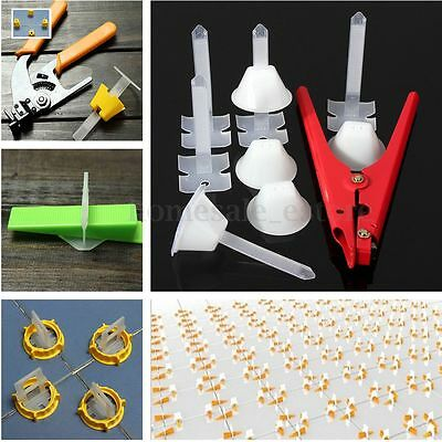 50/100x Various models Tile Leveling Spacer System Building Tool Flooring Wall