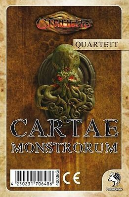 Cthulhu - Cartae Monstrorum (Quartett)