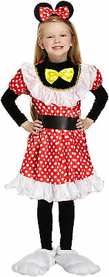 Cow Girls Fancy Dress Childs Dressing Up World Book Day Kids Outfit Age 4-9 Yrs