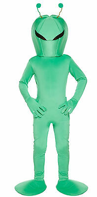 Boys Child Alien Space Fancy Dress Dressing Up Outfit Costume Kids Age 4-12 Yrs