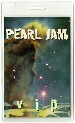 Pearl Jam Backstage Pass  Vip 2000 Laminate