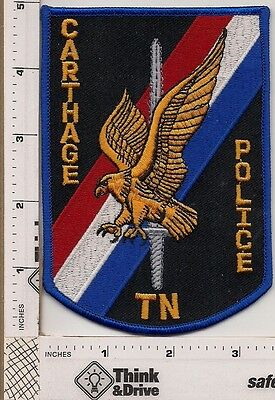 Carthage Police. Tennessee.