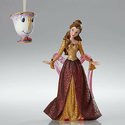 Disney Showcase Couture de Force Christmas Belle Beauty & the Beast 4053349 NEW