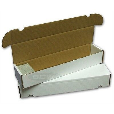 Card Storage Box Holds 900 Cards - 5 Box Pack