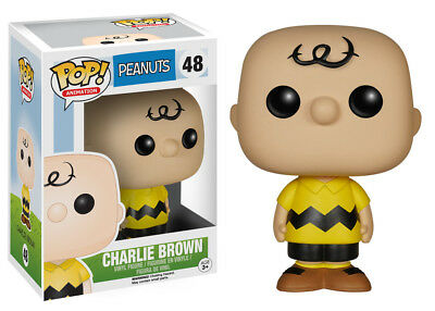 Funko Pop Animation Peanuts Charlie Brown Vinyl Action Figure Collectible Toy 48