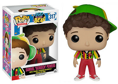 Funko Pop TV Saved By The Bell: Screech Vinyl Action Figure Collectible Toy 6176