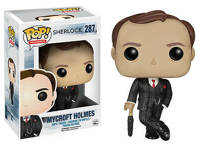 Funko Pop TV Sherlock: Mycroft Holmes Vinyl Action Figure Collectible Toy, 3.75""