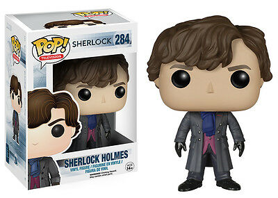 Funko Pop TV Sherlock - Sherlock Holmes Vinyl Action Figure Collectible Toy 6050