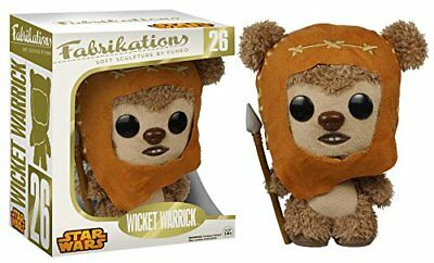 """Funko Fabrikations Star Wars: Wicket 6"""" Plush Action Figure Collectible Toy 6199"""