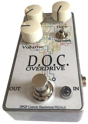 D.O.C. Overdrive - guitar pedal boutique handwired Blues Rock Garage OCD