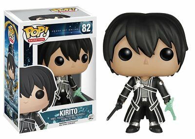 Funko Pop Animation Sword Art Online: Kirito Vinyl Action Figure Collectible Toy