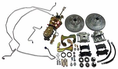 1959-1964 CHEVROLET FRONT POWER DISC BRAKE CONVERSION KIT 8 inch dual booster