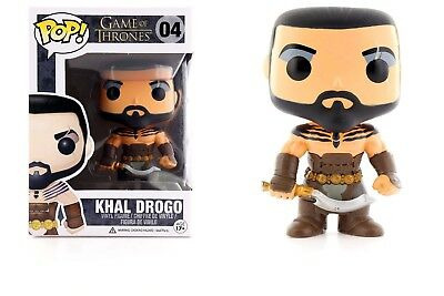 Funko Pop Game Of Thrones: Khal Drogo Vinyl Action Figure Collectible Toy, 3.75""