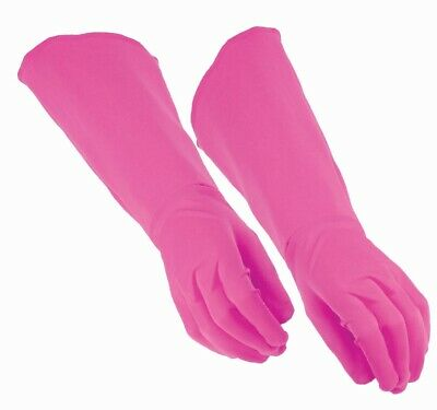 PINK ADULT Unisex Gloves One Size Fits Most Costume Accessory NEW Superhero